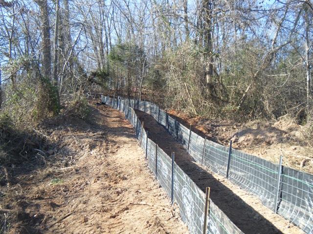 Silt Fences Hot Springs Little Rock Fayetteville El